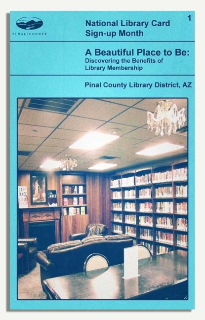 PCLD Library Card Benefits Series - A Beautiful Place - #1