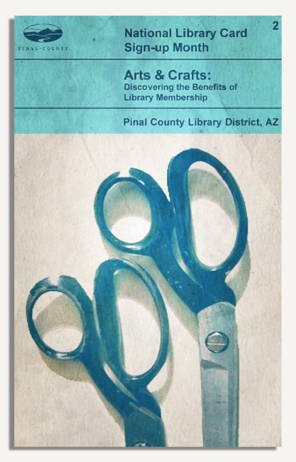 PCLD Library Card Benefits Series - Arts & Crafts - #2