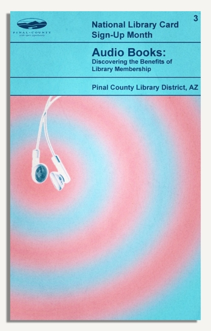 PCLD Library Card Benefits Series - Audio Books - #3