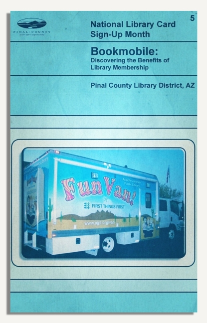 PCLD Library Card Benefits Series - Bookmobile - #5