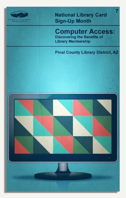 PCLD Library Card Benefits Series - Computer Access - #7