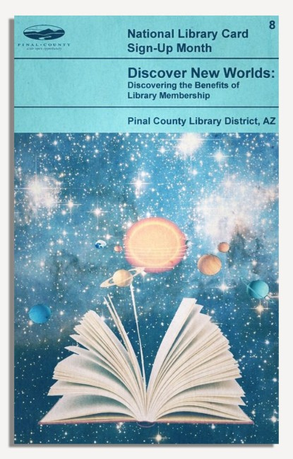 PCLD Library Card Benefits Series - Discover New Worlds - #8