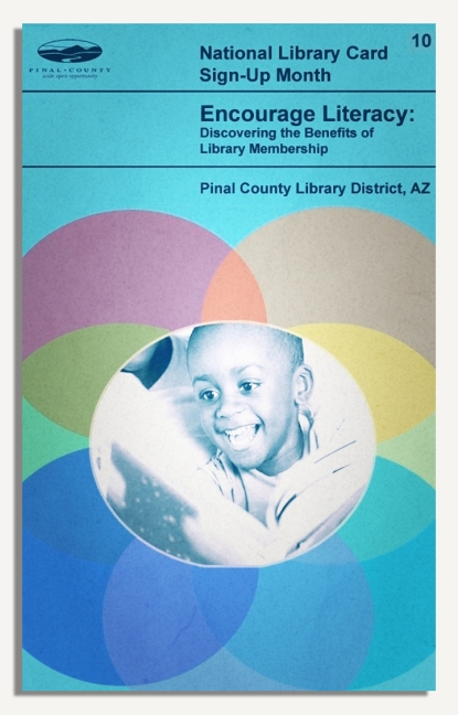 PCLD Library Card Benefits Series - Encourage Literacy - #10