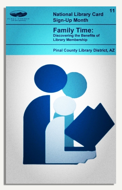 PCLD Library Card Benefits Series - Family Time - #11