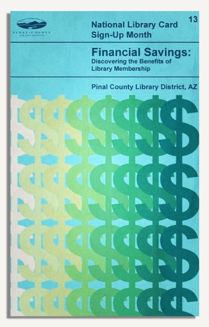 PCLD Library Card Benefits Series - Financial Savings - #13