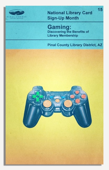 PCLD Library Card Benefits Series - Gaming - #15