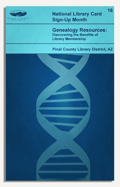 PCLD Library Card Benefits Series - Genealogy - #16