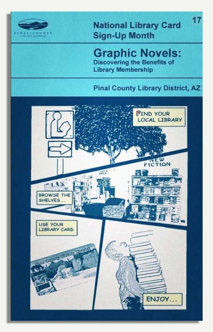 PCLD Library Card Benefits Series - Graphic Novels - #17