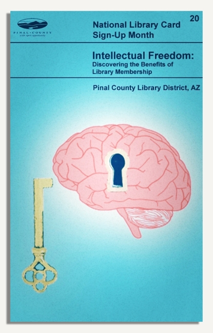 PCLD Library Card Benefits Series - Intellectual Freedom - #20