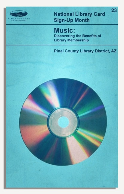 PCLD Library Card Benefits Series - Music - #23