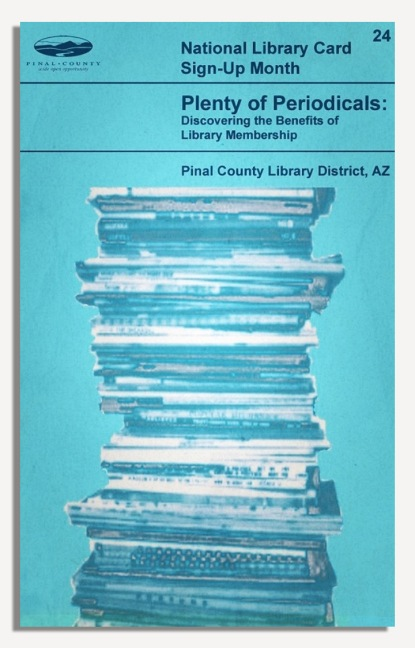 PCLD Library Card Benefits Series - Periodicals - #24