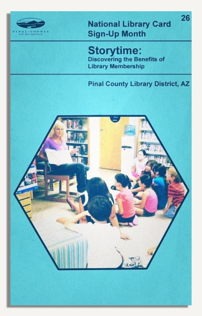 PCLD Library Card Benefits Series - Storytime - #26