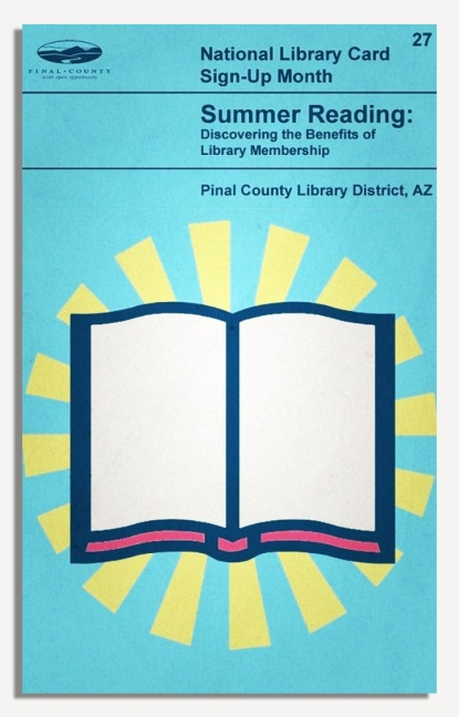 PCLD Library Card Benefits Series - Summer Reading - #27