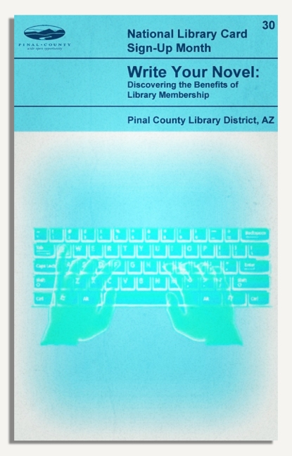 PCLD Library Card Benefits Series - Write Your Novel - #30