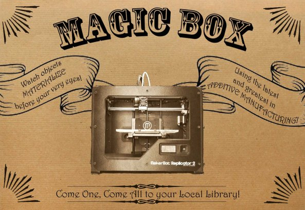 Magic Box Flyer for Web