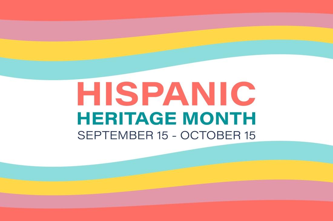 Hispanic Heritage Month September 15 - October 15. Background, poster, greeting card, banner design. Vector EPS 10